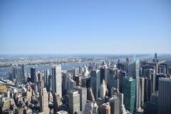 Обзор Нью-Йорка/Манхаттана Стоковые Фотографии RF