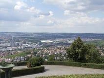 Обзор Штутгарта, Германии Стоковая Фотография RF