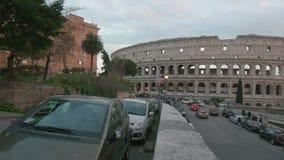 Обзор Colosseum, Рим, в 4K видеоматериал