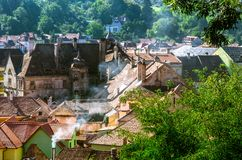 Обзор Sighisoara Стоковое Фото