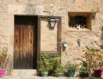 обитая испанское традиционное стоковое фото