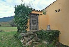 Обитель Sant Guillem Каталонии Стоковые Изображения RF