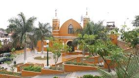 Обитель в районе Barranco Лимы стоковое фото rf