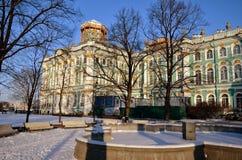 Обитель. Зима. Санкт-Петербург. Россия Стоковые Фото