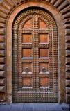 обитое массивнейшее двери Стоковая Фотография