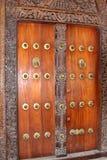 обитое stonetown двери стоковое фото