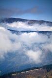 облака вниз Стоковые Изображения RF