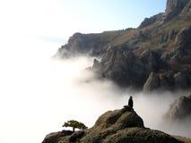 облака вниз Стоковое Изображение RF