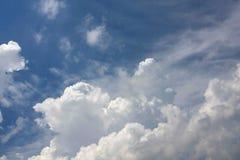 Облака в небе Стоковое Фото