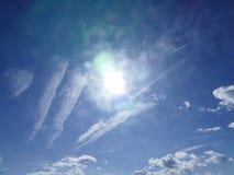 Облака в образовании Стоковая Фотография RF