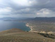 Облака горы стоковое изображение rf