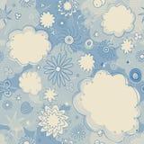 облака делают по образцу безшовные звезды Стоковое Изображение RF