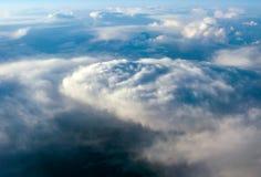 облака как торнадо взглядов Стоковые Фото