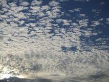 Облака конфеты хлопка стоковое фото