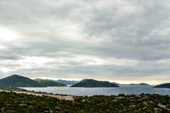 облака над морем, цифровым изображением фото как предпосылка стоковое фото rf