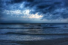 Облака на нас Стоковое фото RF