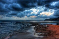 Облака на нас стоковые фотографии rf