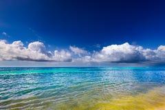 Облака неба моря ландшафта Стоковые Изображения RF