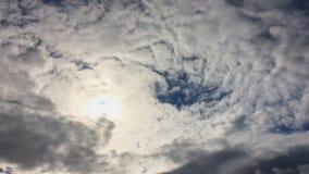 Облака перед дождем сток-видео