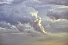 Облака после шторма Стоковые Изображения