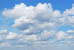 Облака, предпосылка, фото Стоковое фото RF