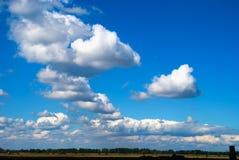 облака предпосылки Стоковое Изображение