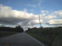 Облака природы торнадо неба стоковое изображение