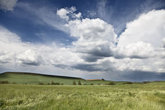 Облака приходят Стоковое Изображение RF