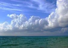 облака располагая ступенями Стоковые Фото