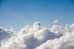 облака сверх стоковое фото