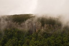 облака скалы стоковое фото