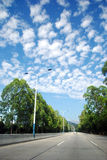 Облака скумбрии Стоковые Фото