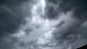 Облака с темнотой Стоковое Фото