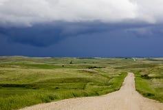 Облака шторма Саскачеван Стоковые Изображения