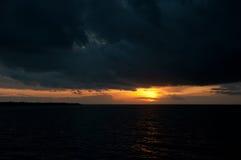Облака шторма Стоковое Изображение