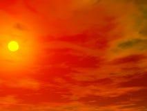 облака 1 предпосылки Стоковые Изображения