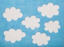 Облака Felted Стоковое фото RF