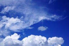 Облако в форме глаза стоковое изображение rf