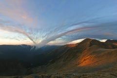 облако загадочное Стоковое Изображение RF