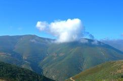 облако колебаясь Стоковая Фотография RF
