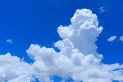 Облако кумулюса облако неба дня стоковое изображение rf