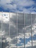 облако над отражением Стоковые Изображения