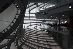 Облако, новый центр конгресса в Риме Massimiliano Fuksas Стоковое Изображение RF