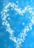Облако сердца форменное Стоковое Фото