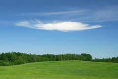облако сиротливое Стоковое фото RF