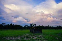 Облако солнца Флориды установленное Стоковое фото RF