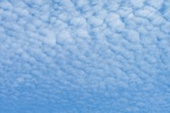 Облако циррокумулуса стоковое изображение rf
