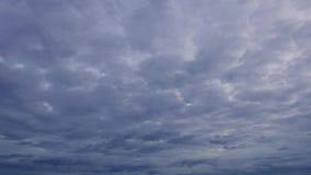 Облако Hyperlapse 03 видеоматериал