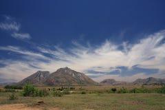 область Мадагаскара гористой местности Стоковые Изображения RF
