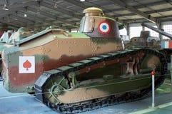 ОБЛАСТЬ МОСКВЫ, РОССИЯ - 30-ОЕ ИЮЛЯ 2006: Ligh француза Renault FT-17 Стоковое Изображение